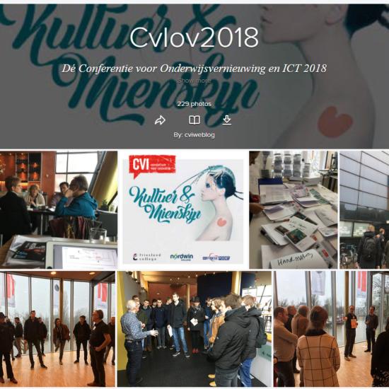Foto's van Dé CvI2018 Conferentie Kultuer & Mienskip