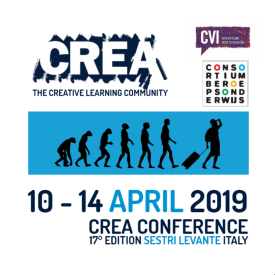 Crea Conference bezoek 2019 voor prijswinnaars CvI2018