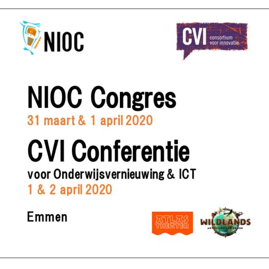 NIOC Congres en Dé CvI Conferentie 2020