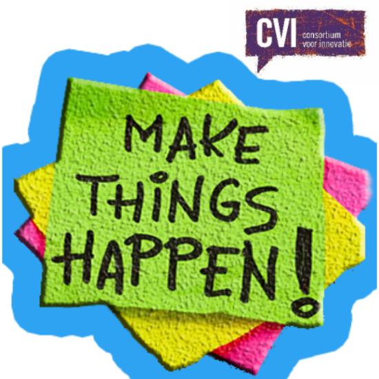Het Consortium voor Innovatie gaat voor jou aan de slag!